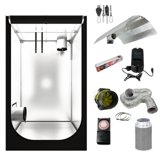 Hobby Budget Grow Tent Kit 120 x 120 x 200 5   sc 1 th 225 & Low Cost Hydroponics | Root 2 Success
